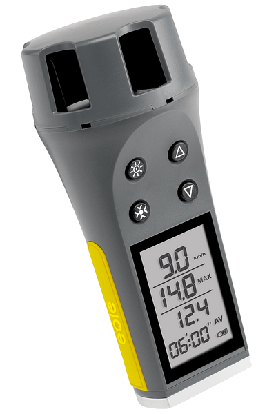 Eole hand-held anemometer