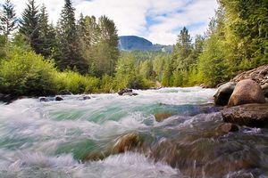 Mesure de courant de rivière