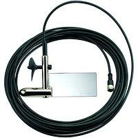 Sonde avec hélice lestée au bout d'un câble de 15 mètres