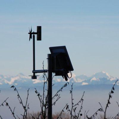 Station Skywatch N.E.W.S. installation en extérieur