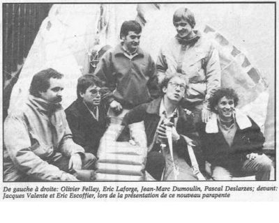 1990-12-16 Un parapente révolutionnaire est né