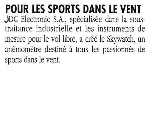 1992 For wind sport