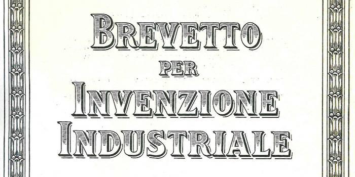 Breveto per invenzione industriale